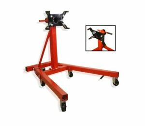 2000 Lb Engine Stand Motor Hoist Car Truck Vehicle Folding Repair Jack Dolly New