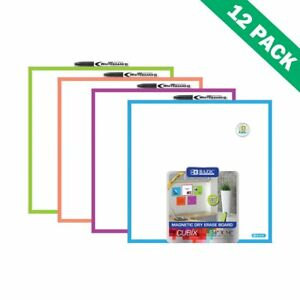 Magnetic Dry Erase Board Whiteboard Dry Erase Board Wall Mount set Of 12