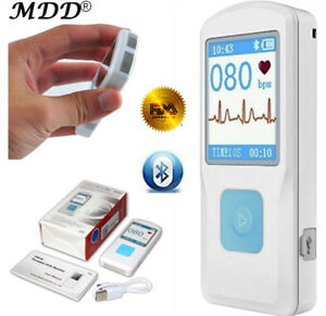 Fda Cloud Bluetooth Handheld Ecg ekg Contec Pm10 Heart cardiac Monitor Lcd Usb