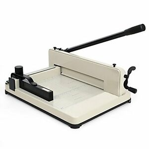 Paper Roll Cutters Amzdeal Professional Heavy Duty Industrial Trimmer Guillotine