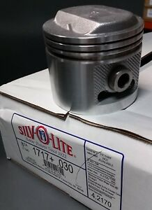 1959 1966 Buick 401 Nailhead Piston 030 Set Of 8 Pistons