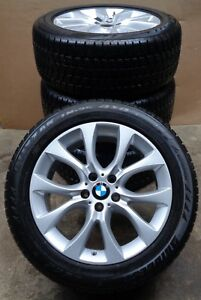 4 Bmw Winter Wheels Styling 450 Set Of Tyres X5 F15 Rdci 255 50 R19 8mm Rdks