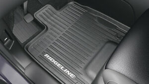 2017 2019 Genuine Honda Ridgeline High Wall All Season Floor Mats 08p17 T6z 100