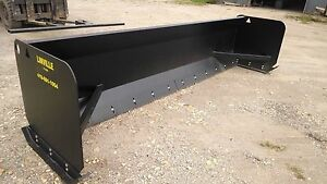 Linville 12ft Steel And Rubber Blade Snow Pusher