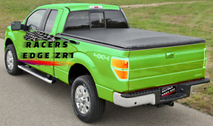 Racersedgezr1 2005 2013 Frontier Snap on Soft Roll up Tonneau Cover