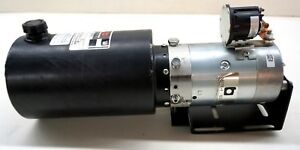 New Buyers Products Pu304 Hydraulic Power Unit 12v Dc Pump Motor Non Valved