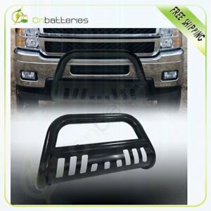 Grille Round Bull Bars Push Guards For 1999 07 Chevy Silverado Classic 1500ld