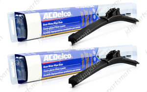 Acdelco Winter Beam Wiper Blade 24 17 set Of 2 Front 8 3324 8 3317