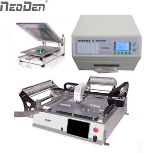 Neoden3v Small Or Medium Smt Line Of Pcba Machine Pick And Place For Prototype J