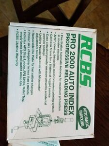RCBS PRO 2000 Auto Index Progressive Reloading Press