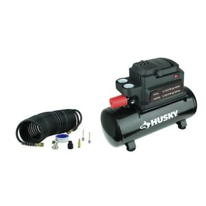 Husky 2 Gal Electric Hotdog Air Compressor 0100211a