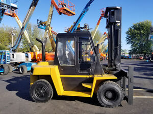2009 Cat Caterpillar Dp70k 15500lb Pneumatic Forklift Diesel Lift Truck Hi Lo