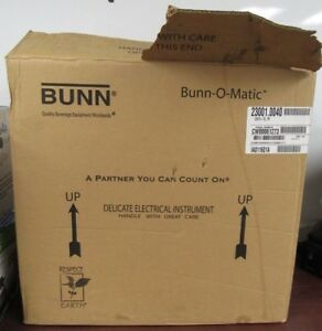 Bunn o matic Cw15 tc Pf Coffee Brewer 120v 23001 0040 w