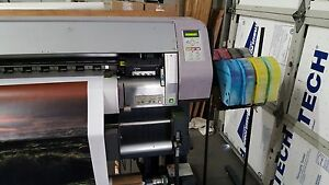 Mimaki Jv3 250 98 Solvent Printer