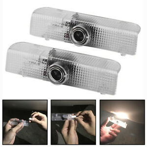 2 Pcs Led Door Step Courtesy Light Laser Shadow Projector Lamp