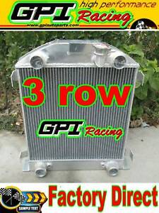 Aluminum Radiator Ford Model A W Flathead Engine 1928 1929 28 29