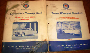 1951 Packard 24th Serie Model 200 300 400 Patrician Owners Guides