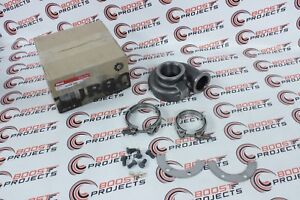 Garrett Undivided V Band Turbine Housing In Ni Resist For Gt28 Gtx28 57 A R
