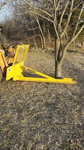 Tree Saw Skid Steer Loader Attachment Cuts 14 trees 7ft Blade Cheap Shipping