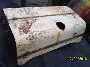 Vintage Ji Case 700 Gas Row Crop Tractor Hood Latches Assy