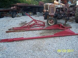 Front End Loader Supposed To Be Off H Farmall Think Fit M Too