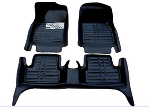 2008 2013 For Toyota Highlander Car Floor Mats Liner Front Rear Carpet Mat