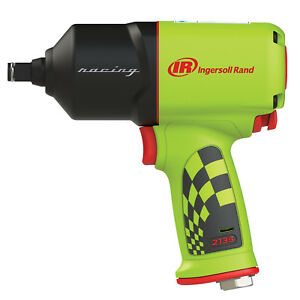 Ingersoll Rand 1 2 Dr Quiet Air Impact Wrench Special Edition Green 2135qxpr g