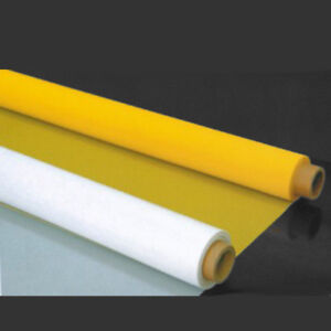 3 Yards 63 Wide Screen Printing Mesh Fabric Yellow Color Fine Mesh 200m 80t