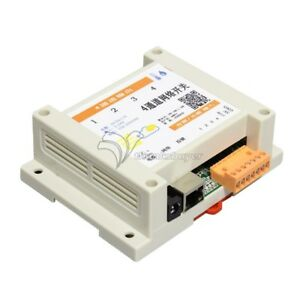 4 channel Network Relay Switch Native Remote Gprs Mobile Web Control Tcp Modbus