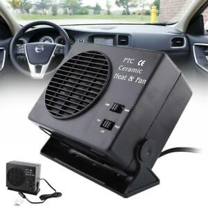 12v 2 In1 Plastic Ceramics Car Van Fan Heater Warmer Window Defroster Demister