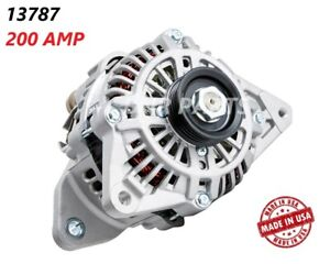 200 Amp 13787 Alternator Mitsubishi Mirage Lancer High Output Performance New Hd