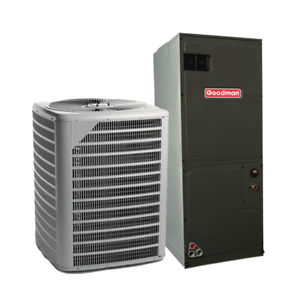 5 Ton 13 Seer Daikin Goodman Commercial Air Conditioning System