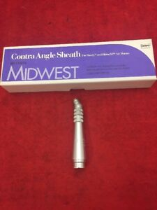 New Midwest Dental Handpiece Contra Angle Sheath 710074 Shorty Rhino xp