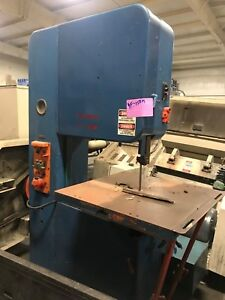 Doall Vertical Band Saw 24 Throat Yf 150m