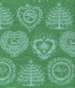 Lapland Green Christmas Gift Tissue Paper 240 Large Sheets