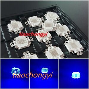 50pcs 10w Royal Blue 445nm 900ma High Power Led Lamp Light For Aquarium Plant