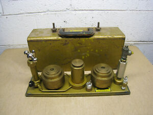 Chandler Engineering 23 1 Dead Weight Tester Pressure Calibrator Used