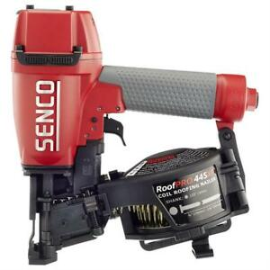 Senco Roofpro Coil Roofing Nailer 445xp Pneumatic 15 degree New