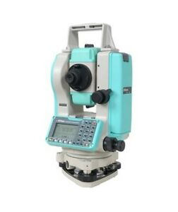 Nikon Npl 322 2 Second Reflectorless Total Station Built in Nikon Software
