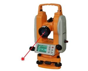 Johnson Level 5 second Electronic Digital Theodolite With Laser