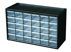 30 Drawers Storage Organizer Plastic Boxes Plastic Boxes Parts Cabinet Cabinet