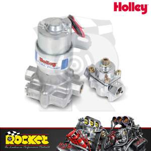 Holley Blue 110gph Electric Fuel Pump W Regulator Ho12 802
