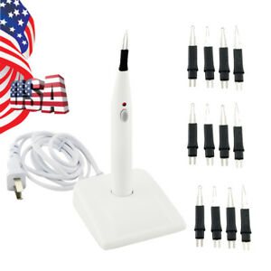 Usa Dental Endodontic Gutta Percha Points Tooth Teeth Gum Cutter 2400mah 12tips