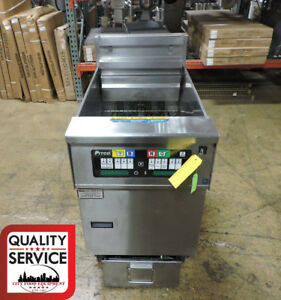 Pitco Ph sef184 Commercial Electric Open Fryer With Filtration
