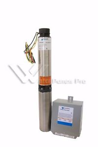 10sb05412c Goulds 10gpm 1 2hp 4 Submersible Water Well Pump Motor 3 Wire 230v