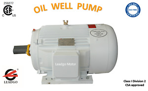 25hp 324t 1200rpm Oilwell Pumping Inverter Duty Hazardous Location Csa Certified