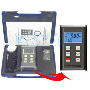 Vm 6380 3 axis Digital Handheld Vibration Tester Meter Portable Vibrometer Gauge