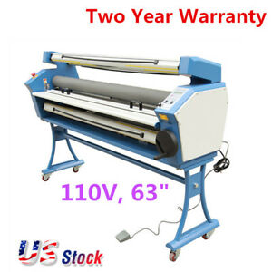 Us 63 Entry Level Full auto Roll To Roll Wide Format Cold Laminator 110v 1400w