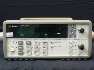 Agilent 53181a W opt 001 Rf Frequency Counter 10 Digit sec