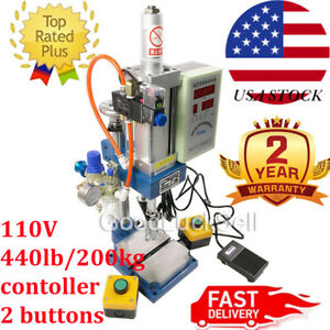 2 Buttons Pneumatic Press Machine Small 100 To 50 Type 200kg Punch Machine Press